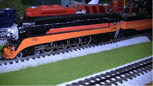 Chicagoland Lionel Railroader Club GS4 Locomotive Video Review Image