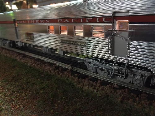 Length View from the Lionel Southern Pacific 18 Passenger Car from the New Jersey Hi-Railers Lionel Ambassador Club Review of 6-20005  6-81975