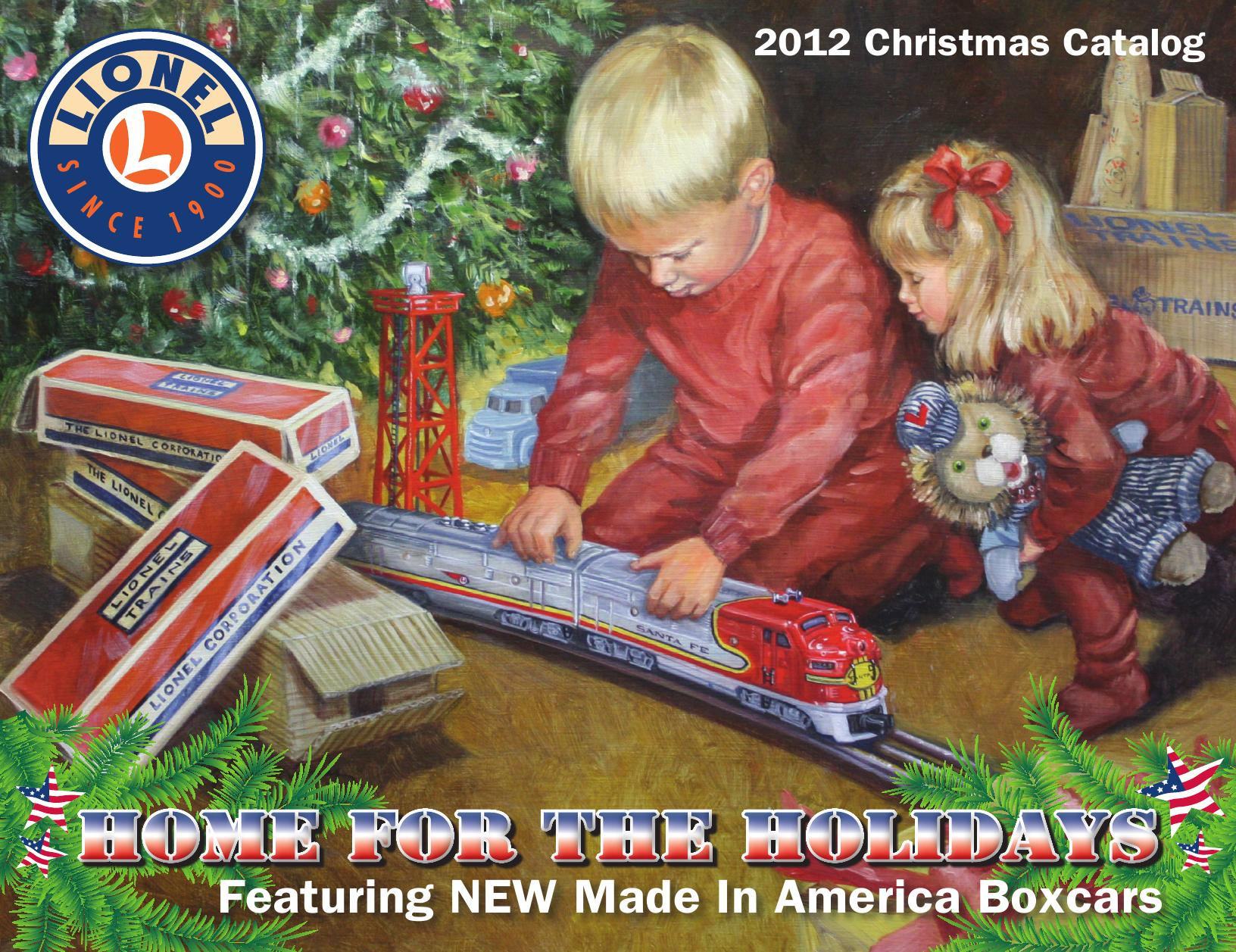 volume 2 lionel catalogs christmas 2012