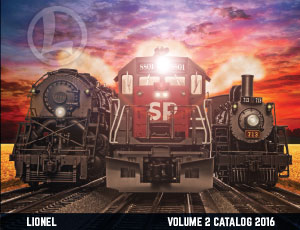 Lionel Catalogs - Volume 2 2016