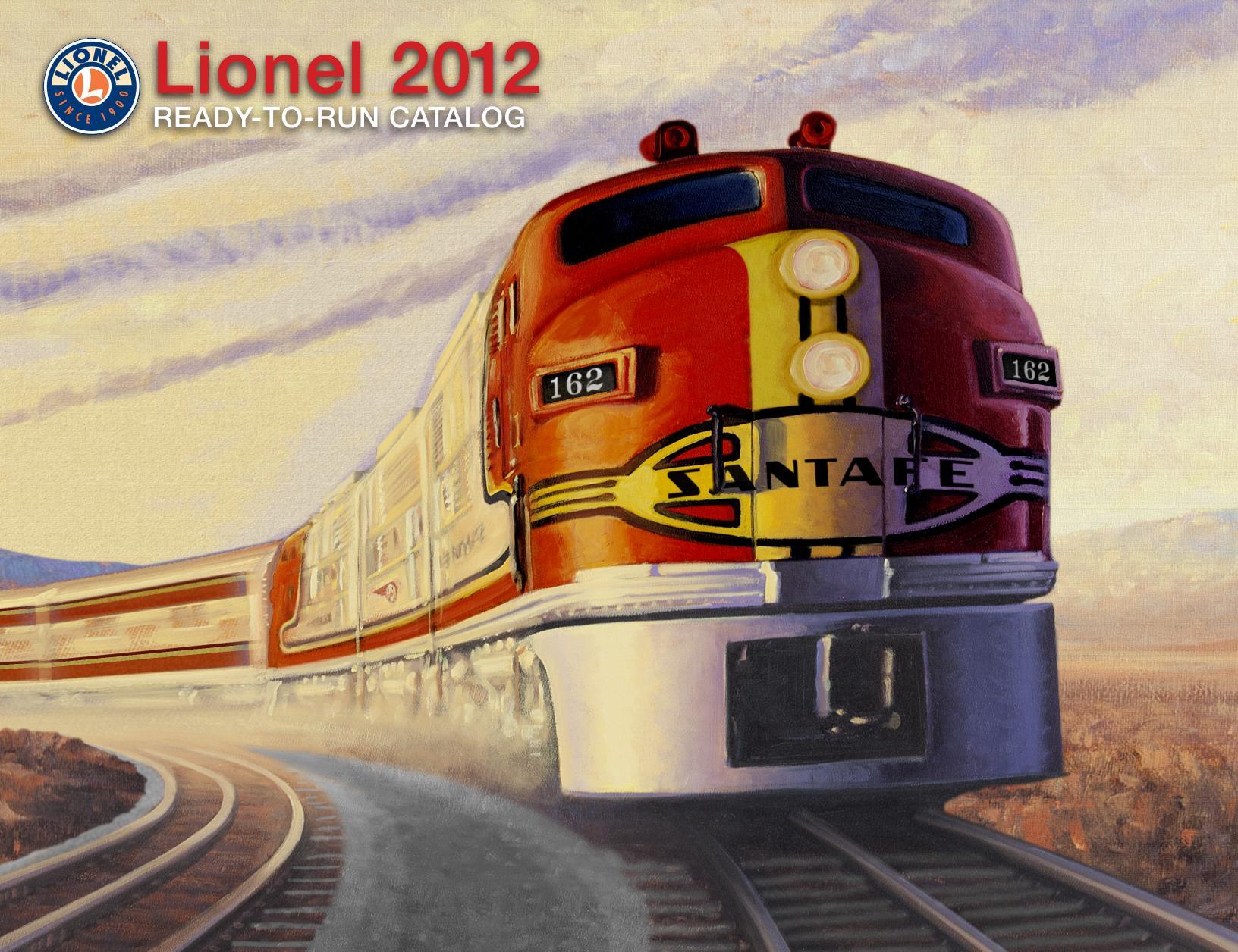 Lionel Catalogs - Ready To Run 2012