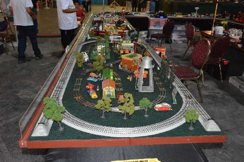 Lionel AmbassadorTTOS  Pacific Division at TTOS National Train Show at the Queen Mary in Long Beach CA August 5  6 2016 with their layout