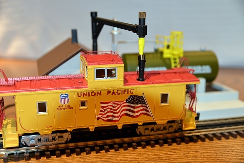 New Jersey Hi-Railers Club Ambassadors to Lionel Product Review of Smoke Fluid Loader 6-37821 - Loading view