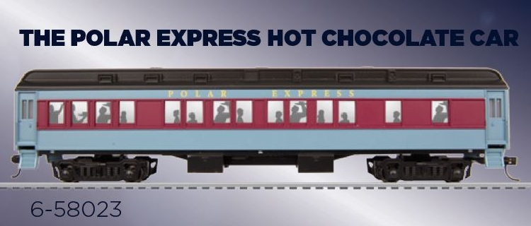 Lionel The Polar Express in HO scale Chocolate Passenger Cars 6-58023