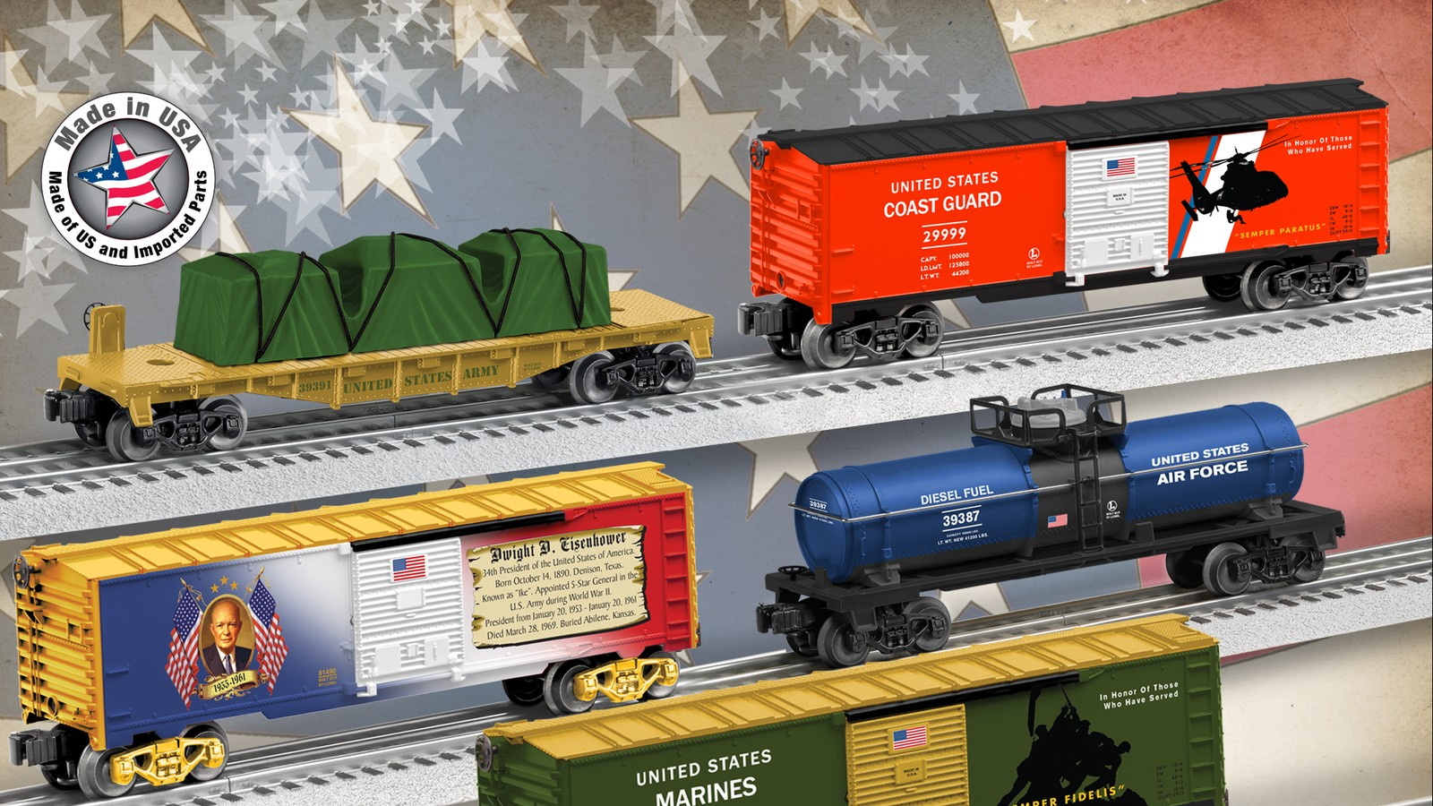 Lionel Rolling Stock And Train Sets