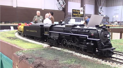 Chicagoland Association of S Gaugers Product Review of 6-47921 Pere Marquette FlyerChief S Scale Berkshire Steam Locomotive