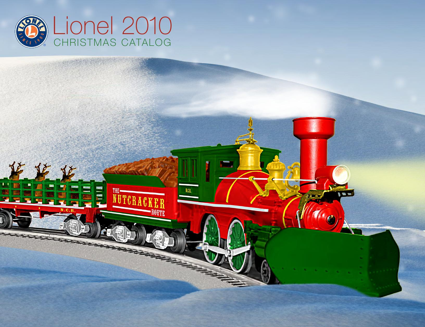 Lionel Catalogs - Christmas 2010