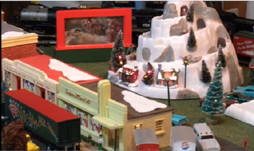 From the video review of the Old St Nick Operating Billboard 6-82002  Winter Station 6-49979 and The Polar Express Station Platform 6-37829 by the CASG a Lionel Club Ambassador