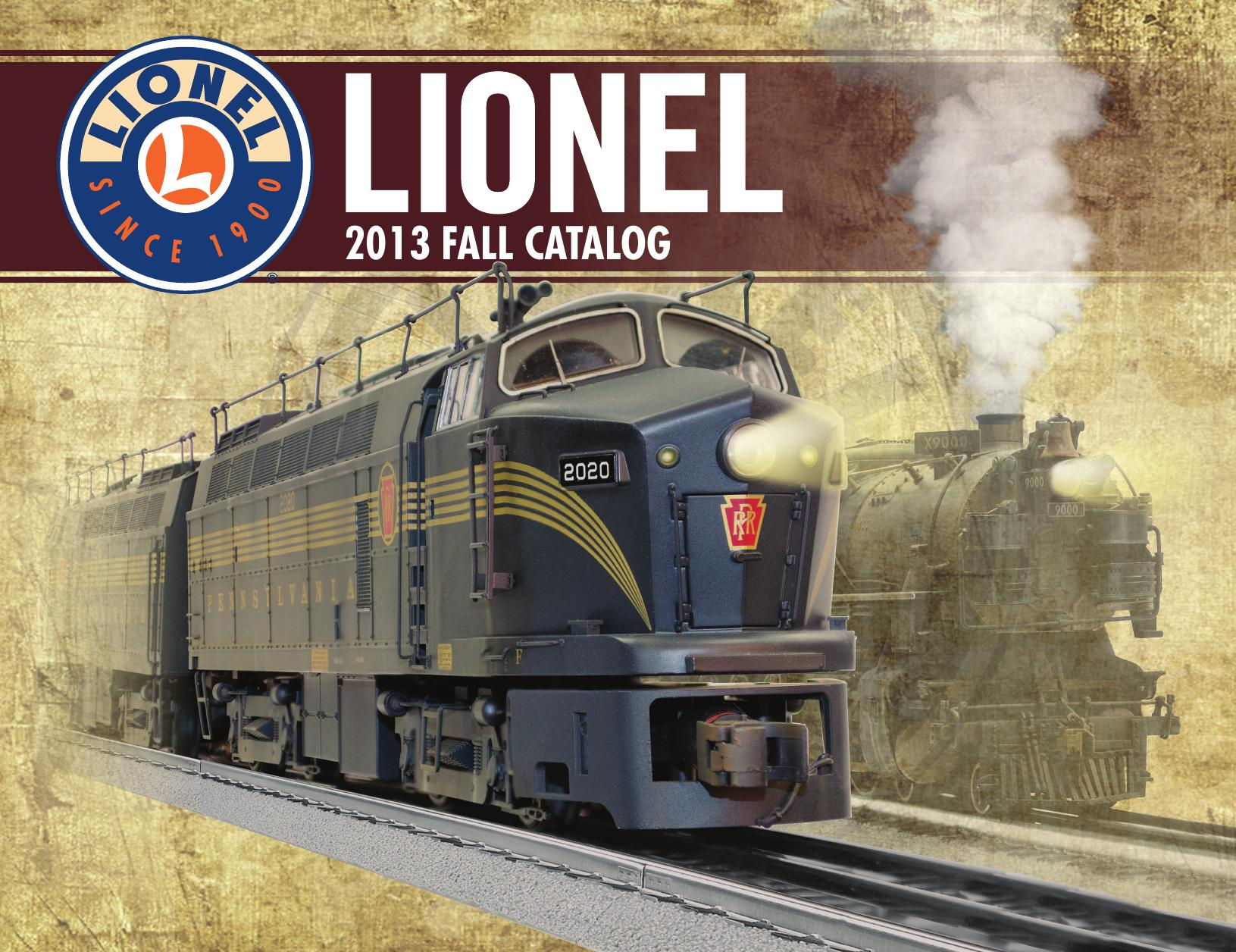 Lionel Trains Catalog : Train gifts collectibles the lionel trains catalog