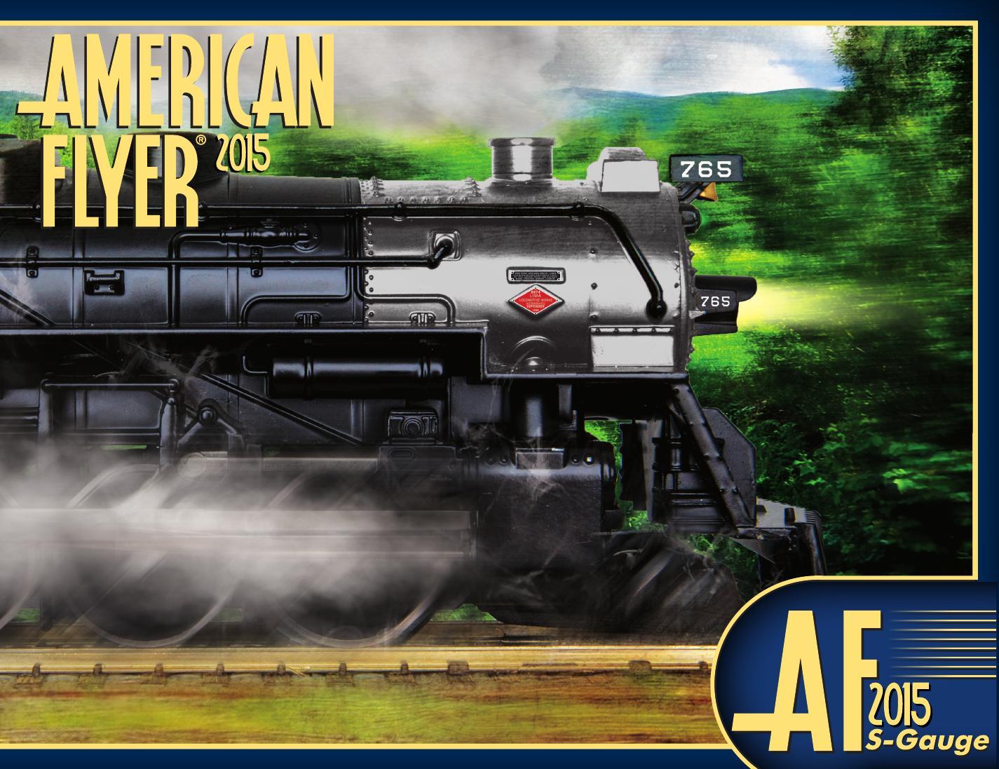 Lionel Catalogs - American Flyer 2015