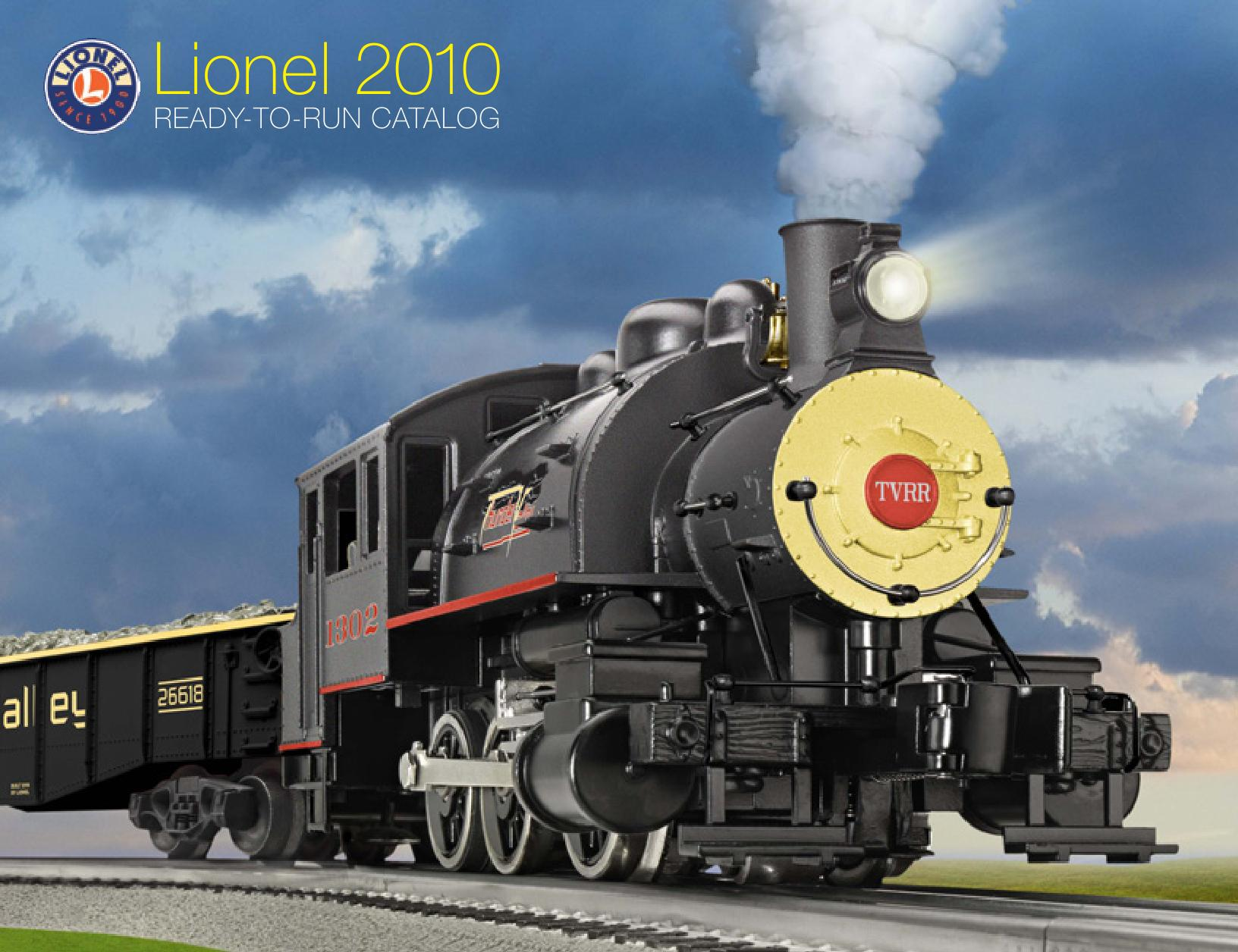 Lionel Catalogs - Ready To Run 2010