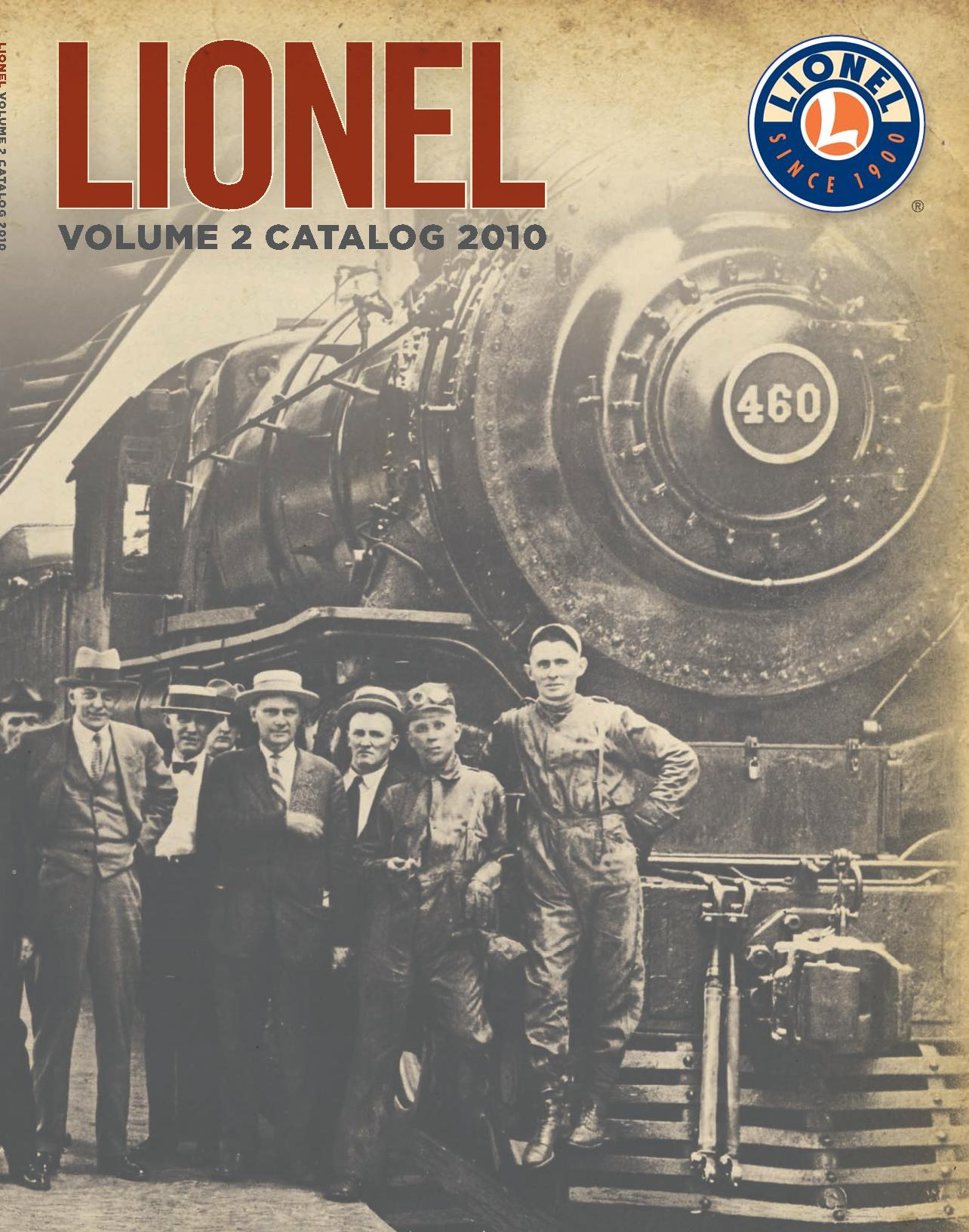 Lionel Catalogs - Volume 2 2010