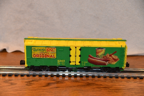 NLOE Nathans 100yrs Anniversary Reefer 83163 6-58266 product review by Lionel Club Ambassador New Jersey Hi-Railers