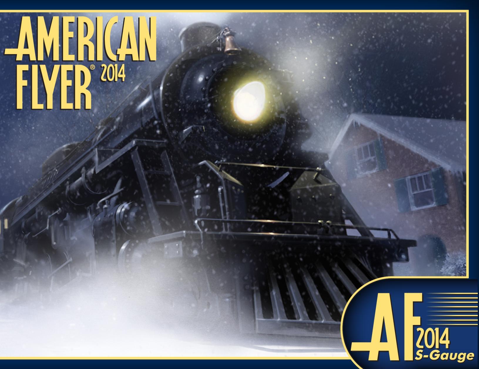 Lionel Catalogs - American Flyer 2014