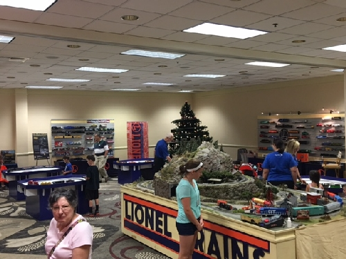 On July 24-30 2016 in Kansas City MO the Lionel Collectors Club of America had its 46th Annual Convention and Lionel Trains set up a display