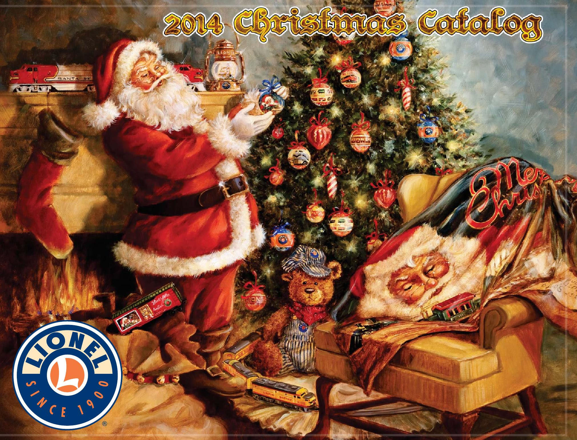 Lionel Catalogs - Christmas 2014