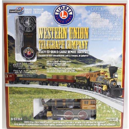 The Toy Train Operating Society  Silver State Division Lionel Club Ambassador image from the product review of the Western Union Telegraph LionChief General Frieght Set 6-81264