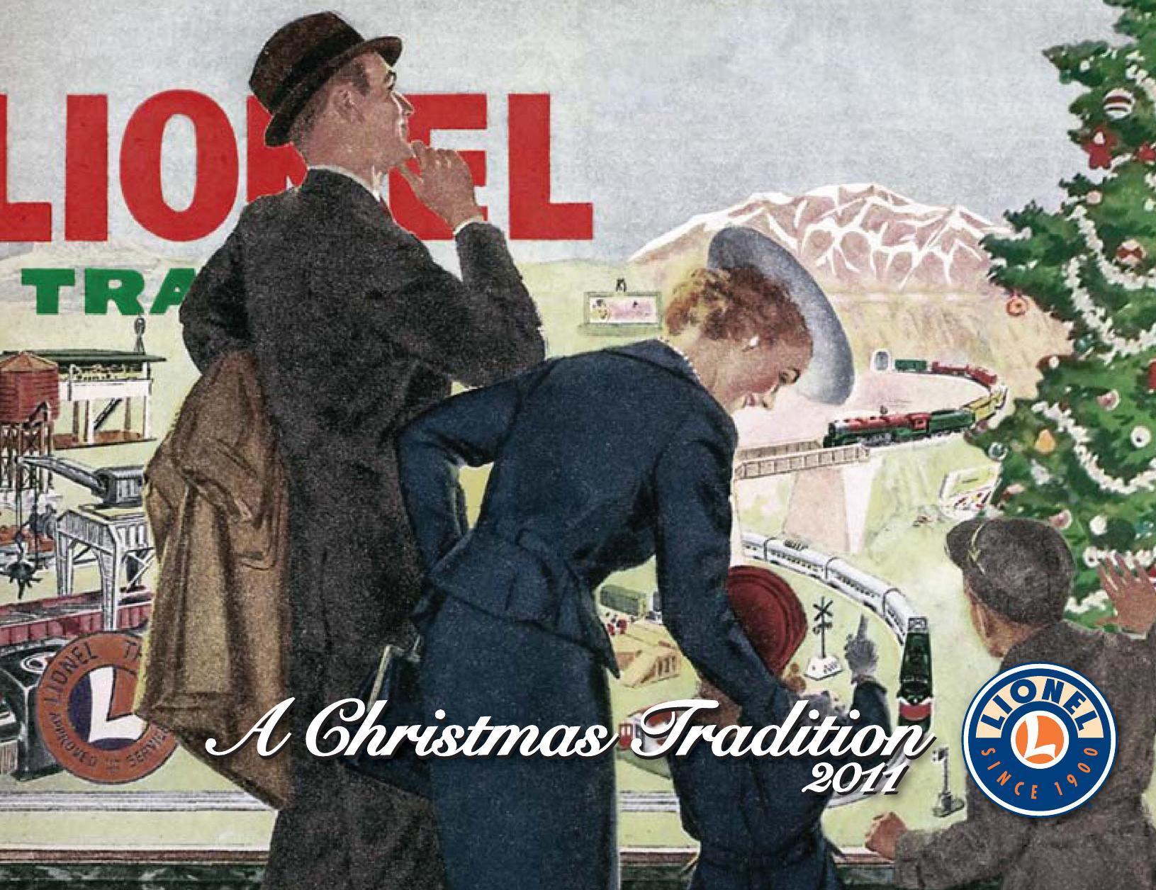 Lionel Catalogs - Christmas 2011