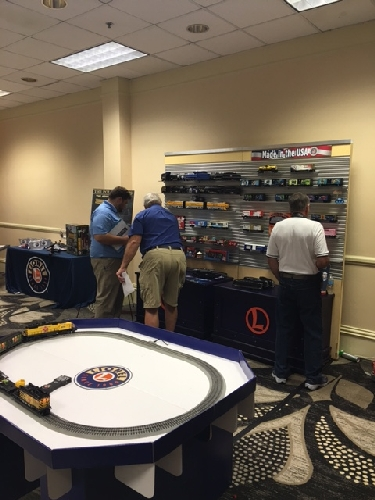 In Kansas City MO on July 24-30 2016 the Lionel Collectors Club of America had its 46th Annual Convention and Lionel Trains displayed a variety of the latest train cars