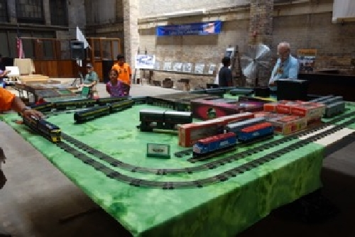 June 2016 Other trains on display at the Chicagoland Lionel Railroad Club Lionel Club Ambassador