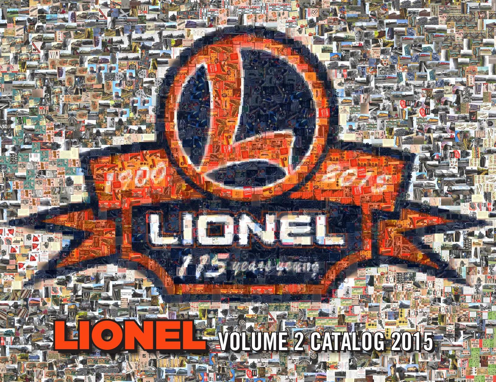 Lionel Catalogs - Volume 2 2015