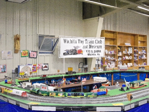 At the 2016 Kansas State Fair in Hutchinson KS the Wichita Toy Train Club Lionel Club Ambassador set up a layout