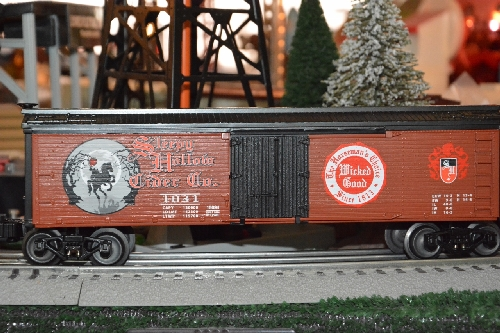 The Toy Train Operating Society  Southern Pacific Division a Lionel Club Ambassador product review of the Sleepy Hollow Halloween Reefer 6-15094