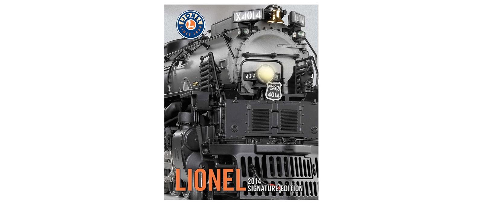 Lionel 2014 Signature Edition Catalog Product List