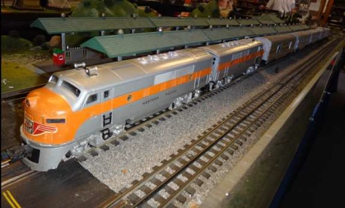 The Western Pacific F3 Locomotive from the Queen City Hi-Railers Lionel Club Ambassador product review