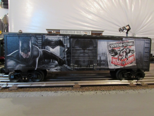 Review of the Lionel Dark Knight Boxcar 6-83776 by Chicagoland Lionel Railroad Club Club Ambassadors to Lionel