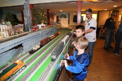 Chicagoland Lionel Railroad Club February Open House Layout