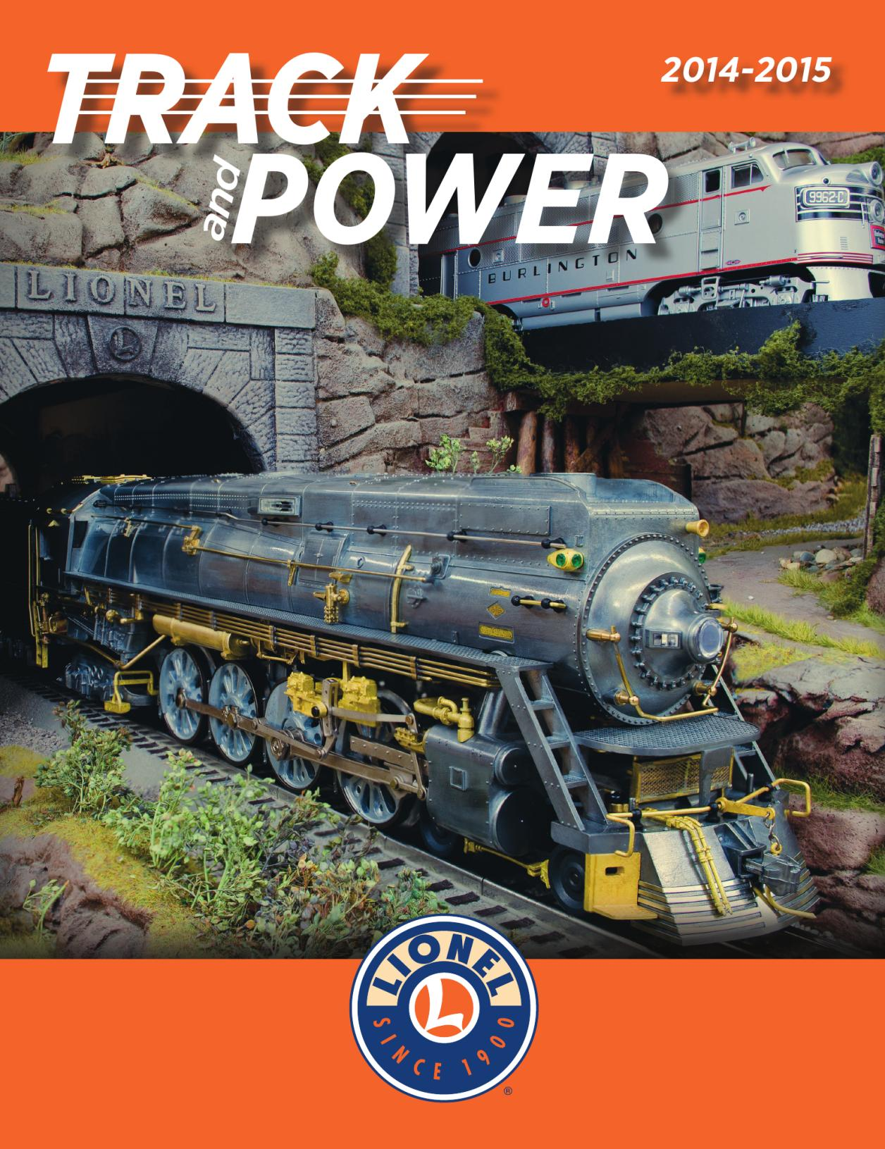 Lionel Catalogs - Track and Power 2014