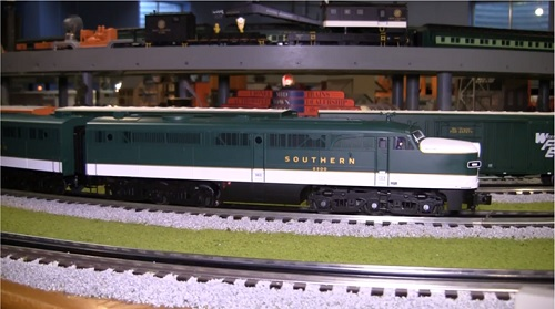 Chicagoland Lionel Railroad Club Club Ambassadors to Lionel Review of Southern LEGACY Alco PA 82238  PB 82256 Diesel Locomotive 6-82238  6-82256