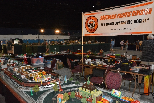 Lionel AmbassadorTTOS  Pacific Division at TTOS National Train Show at the Queen Mary in Long Beach CA August 5  6 2016