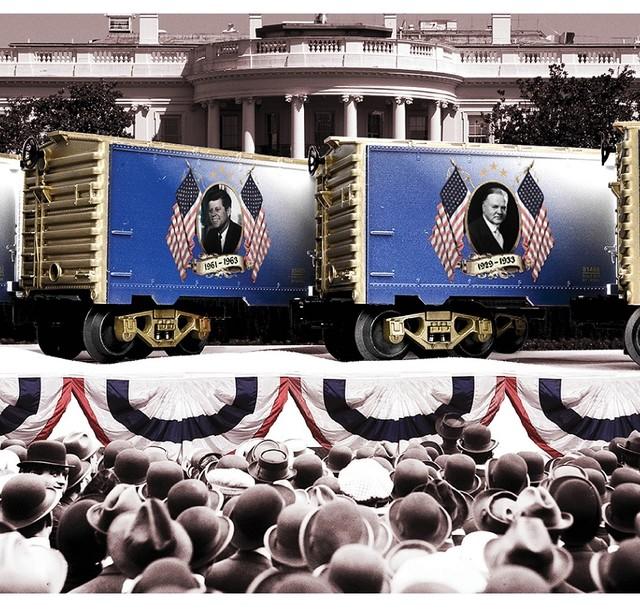Sonstige Lionel Presidential Series Andrew Johnson Boxcar