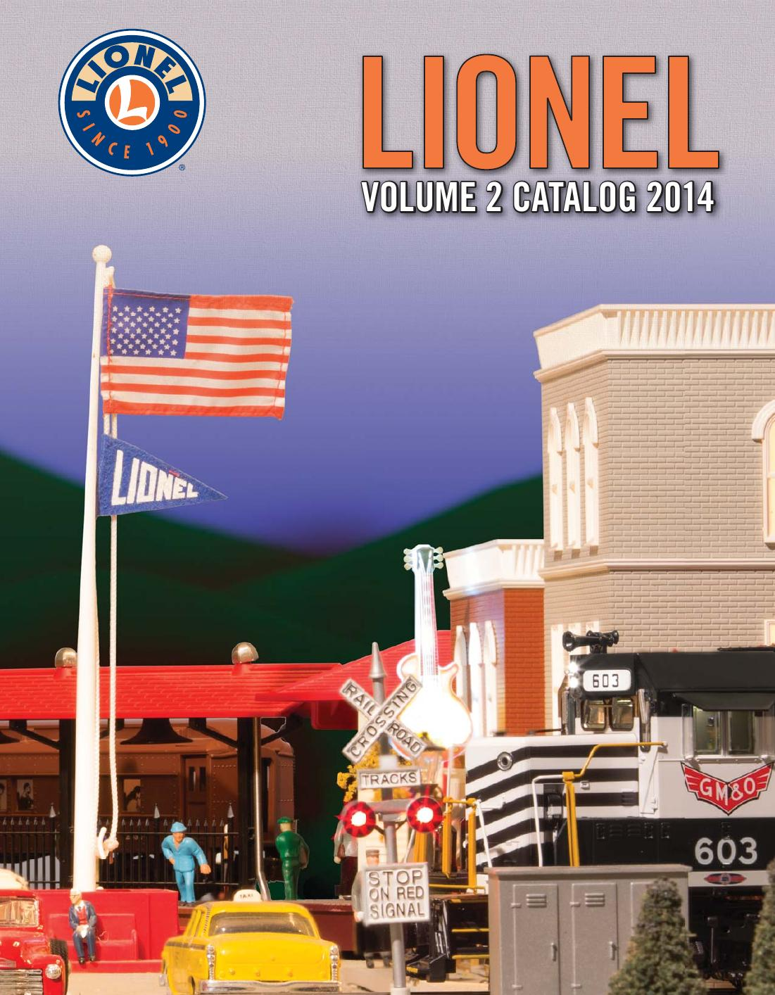 Lionel Catalogs - Volume 2 2015