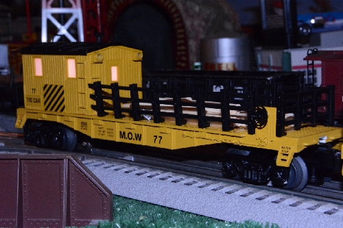Toy Train Operating Society Southern Pacific Division Review of the Lionel MOW Tie Work Car 6-82092