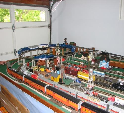 San Joaquin Toy Train Operators Lionel Club Ambassador View Of The Top Level Layout