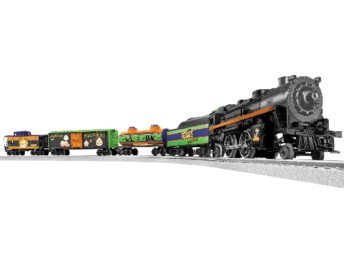 Image from the Product Review of Lionels Peanuts Halloween LionChief Remote Train Set 6-30214 by TTOS  Silver State Division Lionel Club Ambassador
