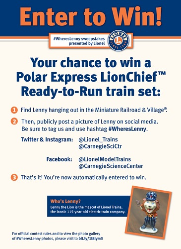 Win a Polar Express LionChief Ready-to-Run Set