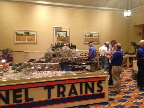 The 45th Annual LCCA Convention had Lionels elaborate layout displayed